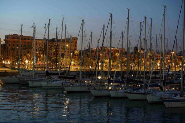 Barcelona Port Vell, Vieux port