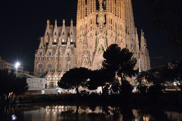 Barelone Sagrada Familia extérieur