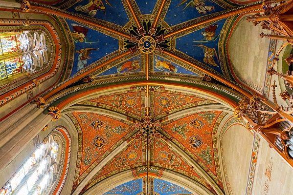 Genève cathédrale Saint-Pierre chapelle des Macchabés