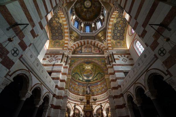 Marseille Notre-Dame-de-la-Garde intérieur
