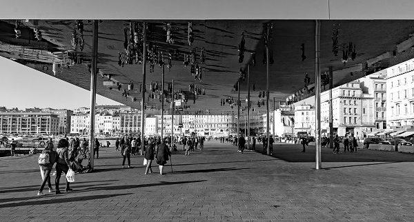 Marseille l'Ombrière de Norman Foster