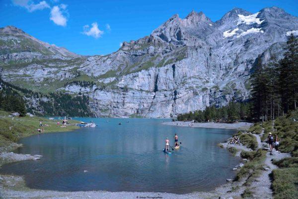 Alpes bernoises, Oeschinen See