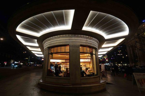 Genève, Le mythique kiosque de Chantepoulet