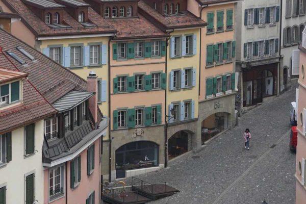 Lausanne rue Cheneau-de-Bourg