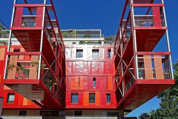 Montpellier - immeuble moderne