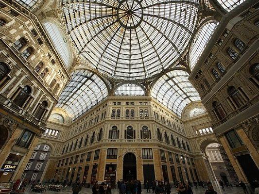 Naples galeria Umberto 1 plafond