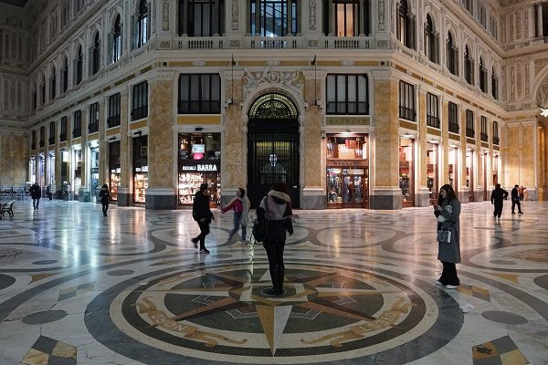 Naples galerie Umberto 1