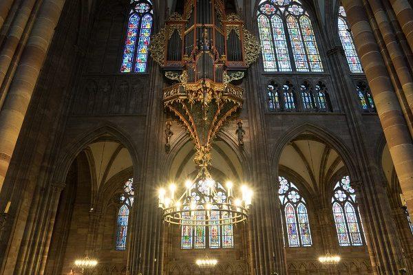 Strasbourg orgue de la cathédrale