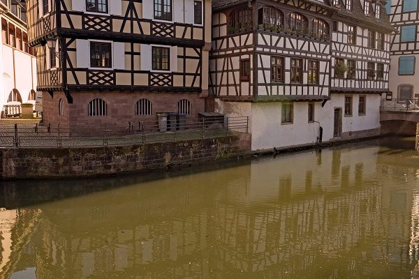 Strasbourg petite-France les maisons à colombage