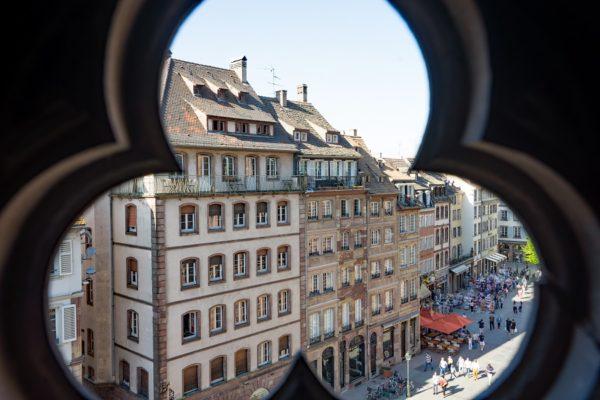 Strasbourg vue depuis la cathédrale