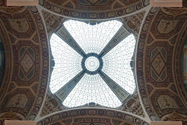 Barcelona Correus le plafond peint