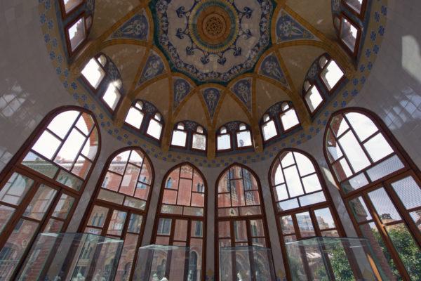 Barcelone Sant Pau detail intérieur