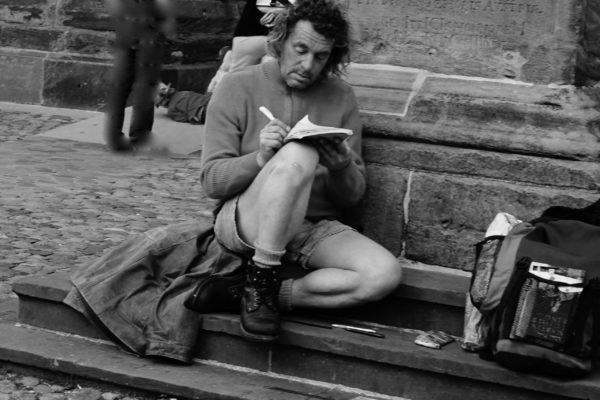 L'écrivain de rue