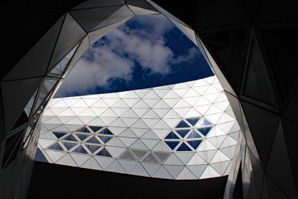 détail architecture immeuble Montpellier
